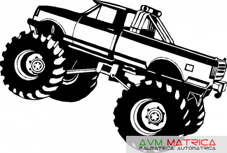 Monster truck falmatrica