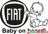 Fiat baby on board autómatrica