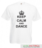 Keep calm and dance póló